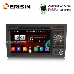 "Erisin ES7628A 7"" Android 8.1 DAB+ Autoradio GPS Wifi DTV 4G AUDI A4 S4 RS4 B7 B9 SEAT EXEO"