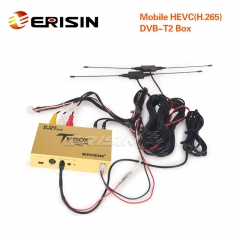 Erisin ES338-KL Touch Screen Control Car Mobile Digitale HDTV DVB-T2 Receiver