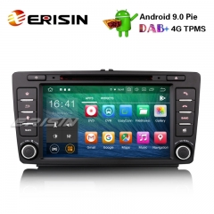 "Erisin ES7926S-64 8"" Android 9.0 Autoradio GPS Wifi DAB+ CD DVB-T2 WiFi OBD Navi for SKODA OCTAVIA"