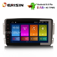 "Erisin ES2989C 8"" DAB+ Android 9.0 Car Stereo GPS Mercedes C/CLK/G Class W203 W209 Vito Viano TPMS"