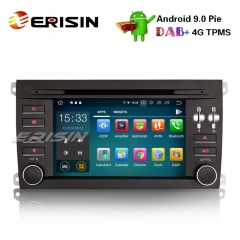 "Erisin ES7997S 7"" 8-Core Android 9.0 Car Stereo GPS DAB+ Wifi 4G BT CD DVR OBD USB Porsche Cayenne"