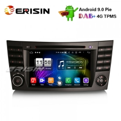 "Erisin ES7710E 7"" Android 9.0 DAB+ Wifi Autoradio GPS DVD 4G for Mercedes Benz E/CLS/G Klasse W211 W219"