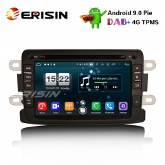 "Erisin ES7783D 7"" Android 9.0 Renault Dacia Duster Logan Dokker Lodgy DAB+4G Wifi Autoradio GPS System"
