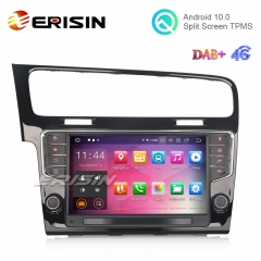 "Erisin ES5111G 9"" Android 10.0 Car Stereo for VW GOLF VII/7 DAB+ CarPlay+ TPMS DVR Radio WiFi GPS Navi"
