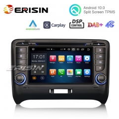 "Erisin ES8179T 7"" PX5 Android 10.0 Car Stereo for AUDI TT MK2 DSP CarPlay & Auto GPS TPMS DAB+ 4G DVD System"