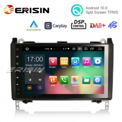"Erisin ES8101B 9"" PX5 Android 10.0 Car Multimedia System CarPlay & Auto GPS TPMS DAB+ DSP for Benz Sprinter Viano Vito"
