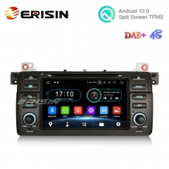 "Erisin ES5946B 7"" Android 10.0 Car Stereo for BMW 3er E46 M3 318 320 MG ZT Rover 75 Wifi 4G DVD Sat Navi"