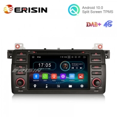 "Erisin ES6946B 7"" Octa-Core Android 10.0 Car DVD GPS Radio WiFi BT 4G for BMW M3 E46 3er 318 Rover 75"