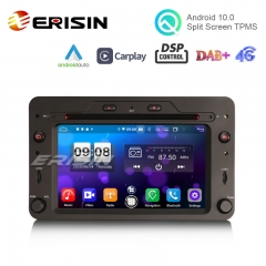 "Erisin ES8720R 6.2"""" Octa-Core Android 10.0 Car DVD CarPlay & Auto GPS TPMS DAB DSP for Alfa Romeo Spider 159 Sportwagon"