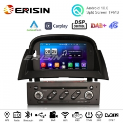 "Erisin ES8772M 7"" 64G Android 10.0 Car DVD Player GPS for Renault Megane II CarPlay Auto DSP DAB+ TPMS DVR RDS"