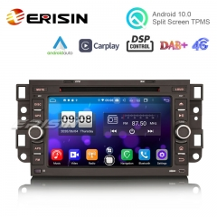 "Erisin ES8776C 7"" Android 10.0 Carplay Auto Radio DSP RDS WiFi OBD DAB+ Car DVD GPS for Chevrolet Aveo Epica Captiva"