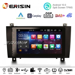 "Erisin ES8184S 8"" Android 10.0 Auto Multimedia System CarPlay & Auto GPS TPMS Radio Stereo for Mercedes-Benz SLK Class R171 W17"